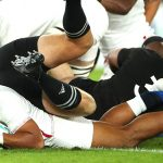 Gli All Blacks abdicano, l'Inghilterra in finale