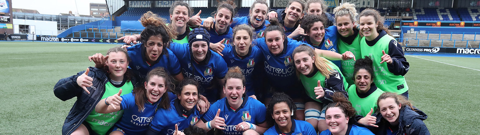 ALLRUGBY rivista italiana del rugby - rugby femminile